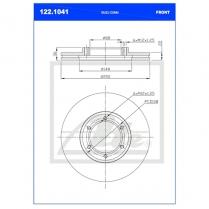 B/Disc DR6268FV/122.1041