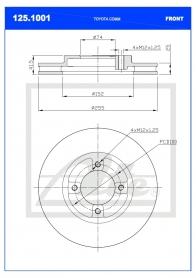 B/Disc DR6282FV/125.1006/
