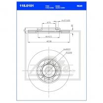 B/Disc DR6345FV/118.0101
