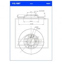 B/Disc DR6350FS/112.1067