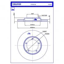 B/Disc DR6367FV/120.0103