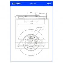 B/Disc DR6374FV/122.1062