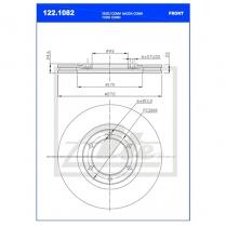 B/Disc DR6392FV/122.1082