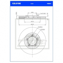 B/Disc DR6412AFV/120.0166