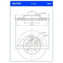 B/Disc DR6439FV/124.1018