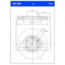 B/Disc DR6476/124.1081