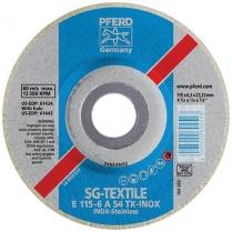 Grinding Disc Steel SG E 115x7