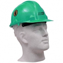 Hard Hat Green With Logo