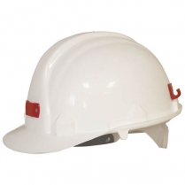 Hard Hat White With Bracket