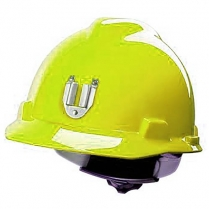 Hard Hat V-Gard Fluorescent Gr