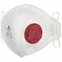 Mask Disp Valved Folded FFP3