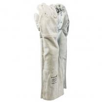 Glove Leather Chrome 40cm Cuff