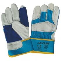 Glove Leather Rigger Blue 6cm