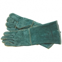 Glove Leather Weldmaster Green