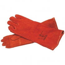 Glove Leather Heat Red Elbow