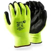Gloves Hi Viz Seamless