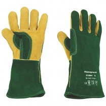 Glove Green Welding Plus