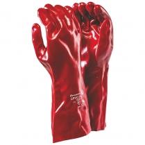 Glove PVC Red Elbow Length