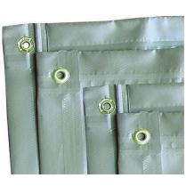 Groundsheet PVC H/D 2x2m
