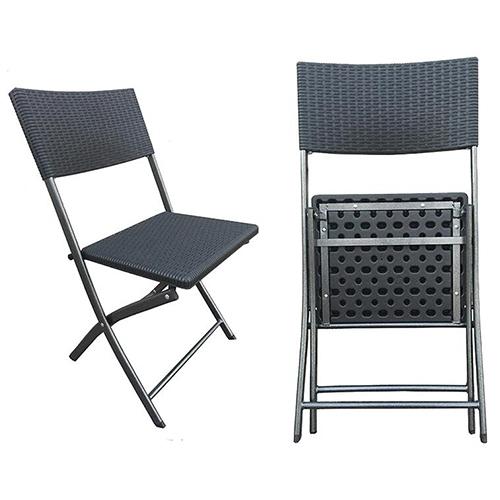 Chair PE Rattan Folding   Product Details CYMOT