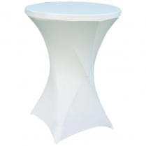Table Cloth White Cocktail