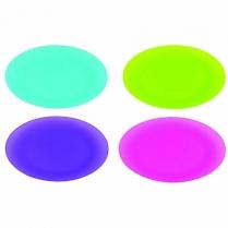 Plate Polyprop 25cm Set of 4