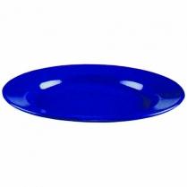 Plate Enamel Blue 25cm