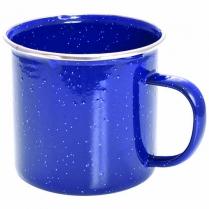 Mug Enamel Blue 500ml