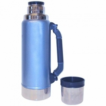 Vacuum Flask 1L Work Blue