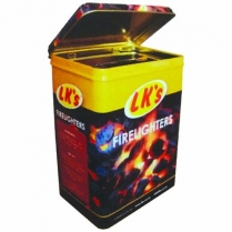 Firelighter 24 Pc With Tin