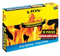 Lion Firelighter