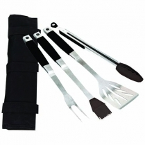 Barbeque Roll Up Set 4Pc