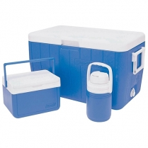 Cooler Combo 45L Blue 48Qt
