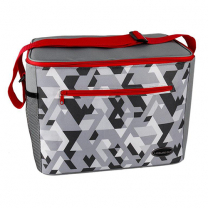 Coolbag 30 Can Grey/Red