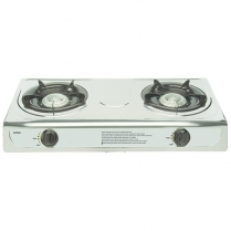 Stove Gas S/Steel 2 Plate
