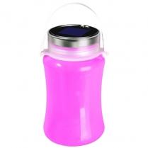 Lantern Silicon Solar Pink