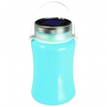 Lantern Silicon Solar Blue