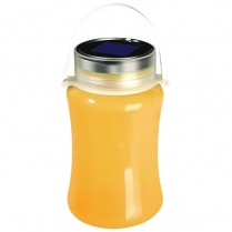 Lantern Silicon Solar Yellow