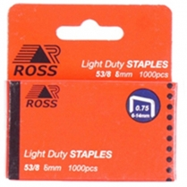 Staples 6mm 1000/Box