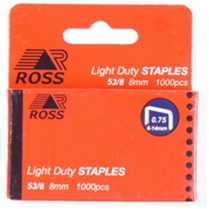 Staples 8mm 1000/Box