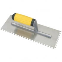 Trowel Notched 280x6mm Rubber