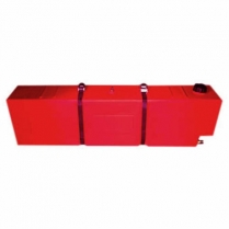Tank Fuel 55L Square Red