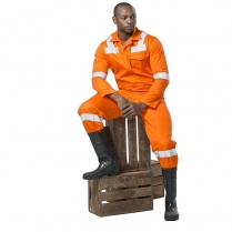 Flame D59 6 Pocket Boiler Suits 1 Piece