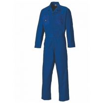 Boiler Suit Overalls 1 Piece Button Polycotton
