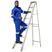 Dromex Polycotton Conti Overall with Reflective Tape