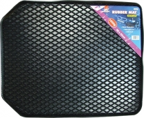 Mat Black Rubber