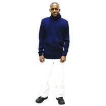 N/Blue Wool Jerseys