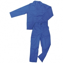 Overalls 2 Piece J54 SABS Zip 100% Cotton