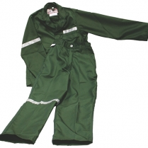 Overall Acid Jackets P/Viscose With Reflective Tape