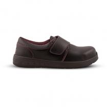Rebel Zari V-Strap Black Shoes